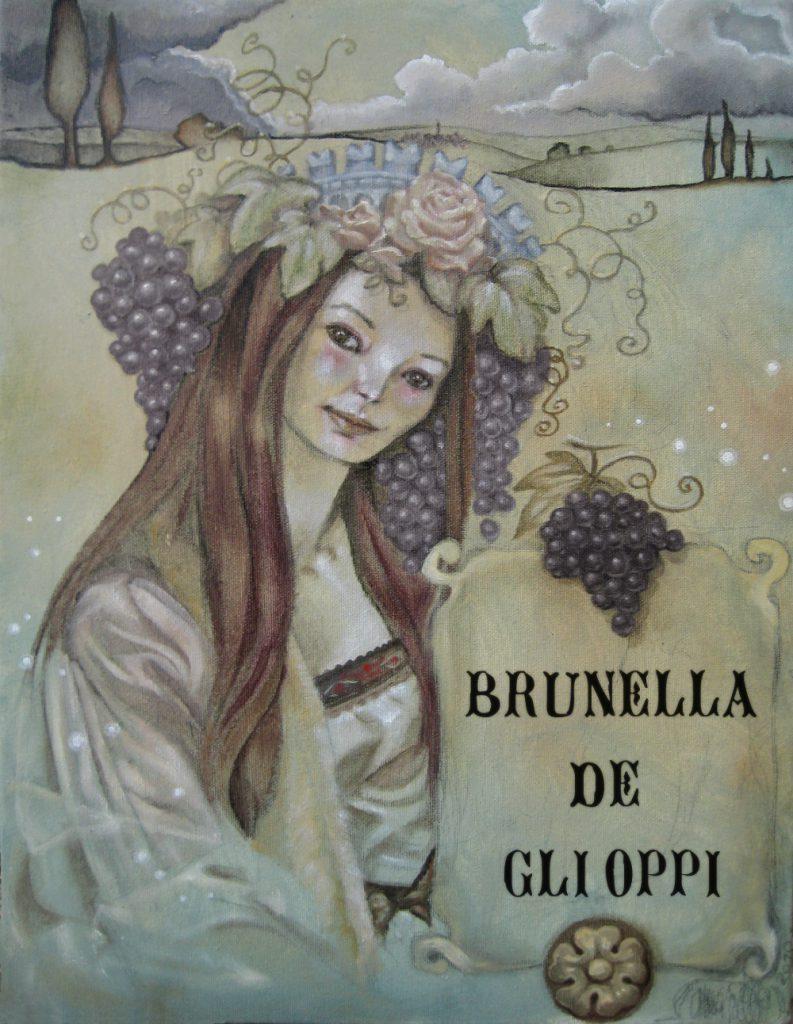 Brunella Degli Oppi ~ by Amarilli A.